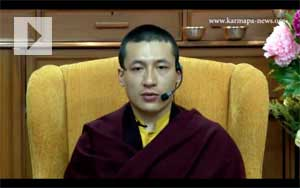H.H. the 17th Karmapa: Guiding a Meditation
